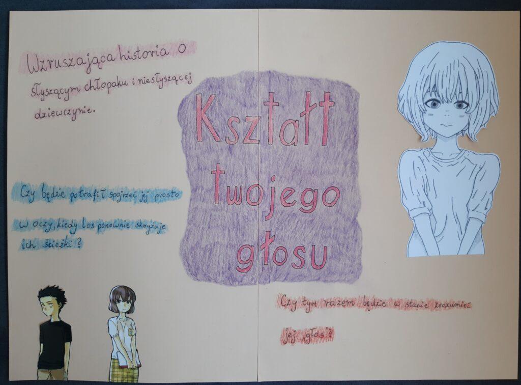 Maja Smentek 8a plakat promujacy lekture
